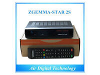 zgemma skybox twin tuner 3s wd 12 mnth gift