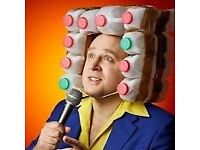 2 of 4 Tim Vine tickets Row C Front Stalls, Cliffs Pavilion, Southend, Saturday 10th February 2018
