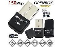 Openbox Skybox Wifi Dongle USB Adapter Antenna For F3 F3s F5 F5s V8 V8s V8se zgemma vu solo MAG 250
