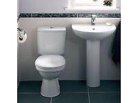 Vitra 5 piece bathroom products - brand new