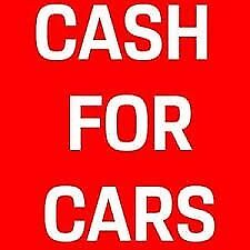WANTED GOOD OR SCRAP CARS 0750 2000 540 ANY AREA