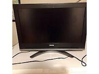 TOSHIBA 32 INCH HDMI FREE VIEW TV