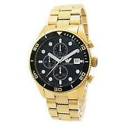 Mens Gold Armani Watch