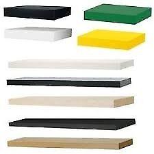 Used Shelves - 9 Ikea shelves in white