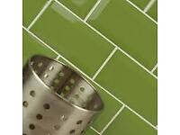 Metro Brick Gloss Golders Green 10cm x 20cm Wall Tile