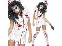 Zombie nurse Halloween outfit 12-14