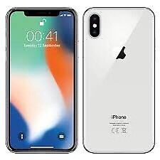 iPhone X 256gb Silver Unlocked - New in Box