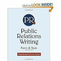 Public Relations Writing, Form and Style