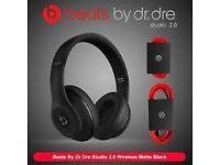 Great Condition Beats Studio3 Wireless Over‑Ear Headphones - Matt Black