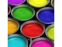 paint, fabric, any craft items