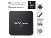 mxq pro 4k MXQ PRO 4k 64bit Android TV Box Quad Core UHD 4K HDMI 2.0 Smart TV Box not skybox