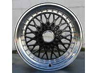 "16"" inch x 9j 5x100 BBS RS style brand new Alloy wheels Subaru impreza wrx sti alloys wheel"