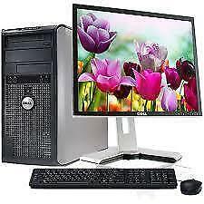 500gb Hard 4gb Ram Dual Core H WiFi Computer & LCD 19 Wifi $105 Only