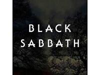 2 x Black Sabbath tickets Leeds 26th January