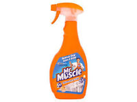 Mr Muscle Citrus Fresh Bathroom and Toilet Cleaner - 750ml (Discount pack of 10)