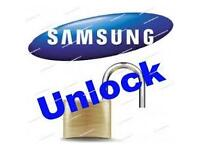 Samsung S6 Unlock Service Done while you wait including; S6 edge, S6, S5, A3, J5 etcx