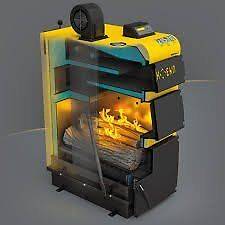 solid fuel, multifuel, exterior home heating boilers