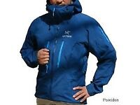 Arcteryx Alpha SV jacket sz XL Poseidon blue New !