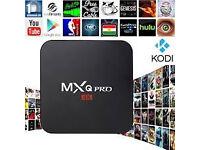 MXQ Pro 4K 64bit quadcore Amlogic S905 Ultimate HD Android tv box not skybox