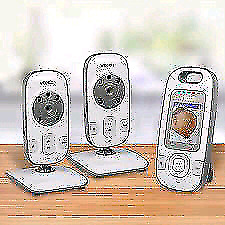 VTech VM312-2 Safe and Sound Video Baby Two Cameras