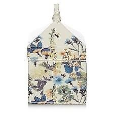 White Floral Country Look Trinket Box
