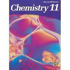 Book for sale: Chemistry 11 high school book