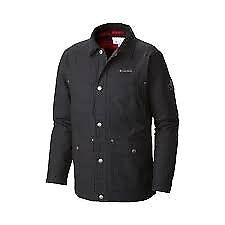 Columbia Loma vista flannel jacket. Black. Medium. Barbour style. New with tags. £50.