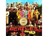 BEATLES - SGT. PEPPER - COLLECTORS LTD EDITION CD BOX - Mint with cutout sheet and metal badge.