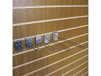 Metal Slatwall Euro Hooks, Prongs and miscellaneous items CAN POST OUT