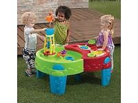 step2 shady oasis sand and water table toy garden step 2
