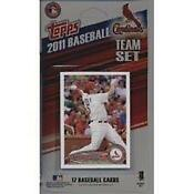 2011 Topps St Louis Cardinals Team Set