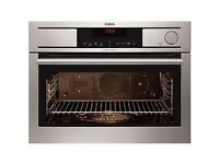 AEG Intergrated Compact Steam Oven