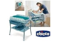 Chicco cuddle and bubble changing table and bath