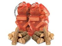 OAK HARDWOOD FIRE WOOD LOGS KILN DRIED 25cm HEAVY LARGE NET 20KG