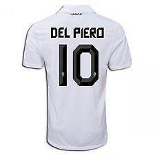 8c0d8a8ec Juventus Jersey Del Piero