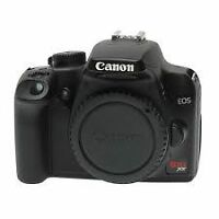 Canon Rebel XS body in excellent condition. 10.1 Megapixels.