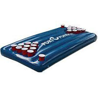 Blow Up Beer Pong Table