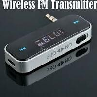 Wireless FM Transmitter for Iphone 5/5S/5C 4 4S Galaxy S3 4