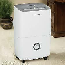 FRIGIDAIRE  30 Pint, 50 Pint, 70 Pint Dehumidifier. New In Box (White) From $89.00 NO TAX.
