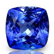 Cushion Cut Tanzanite