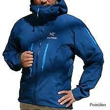 Arcteryx Alpha SV jacket sz XL new tagged blue also pants
