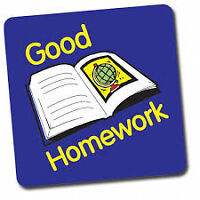 We complete any homework and assignments