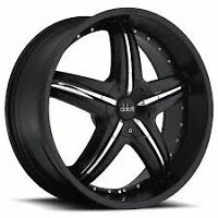 NEW!20 inch BLACK rims with NEW TIRES!! DC26. 300c,charger