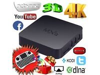 FULLY LOADED ANDROID TV BOX (WATCH IPTV SPORTS AND MOVIE CHANNELS 4 FREE)