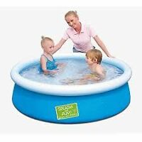 "$55 - OBO NEW Splash and Play 5' x 15"" Fast Set Swimming"