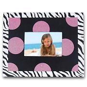 Zebra Print Picture Frames