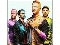 Coldplay Tickets Pitch Standing/Level 1 seating - Cardiff, 12th July 2017