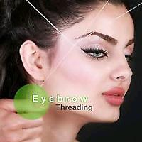 Eyebrow and Facial threading