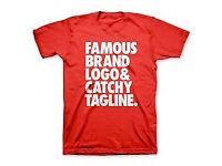PLAIN T-SHIRT CUSTOMIZE FOR ALL OCCASION