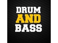 Drum and bass DJ'S + MC'S